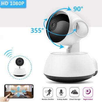 Baby Monitor Nirkabel Ip Kamera 720 P HD Wireless Bayi Pintar Kamera Audio Rekaman Video Kamera Pengintai Grosir