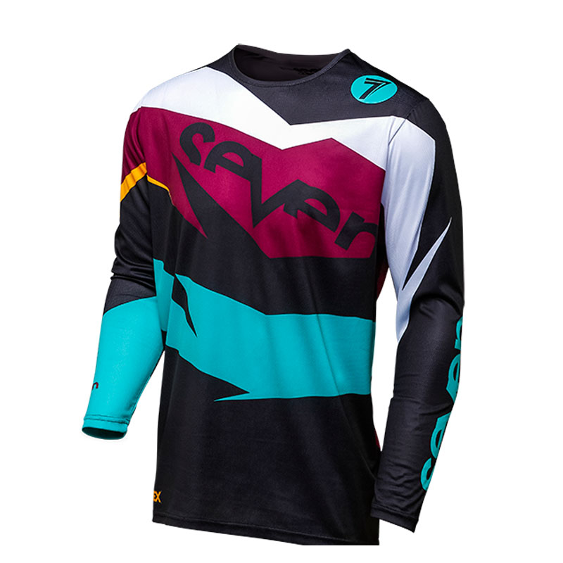 2019 MX MTB seven breathable shirt cycle moto bike cycling jersey man race  t shirt equipment bmx motocross dh cross jerseys-in Cycling Jerseys from  Sports ... 9f473e589