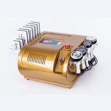 купить Slimming Ultrasonic Liposuction Cellulite Reduction 40K Cavitation Multipolar RF Vacuum Slimming Machine Face Skin Lifting дешево