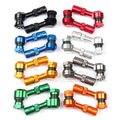 2 Unids CNC Universal de La Motocicleta Del Coche Rueda del Neumático Del Vástago de Válvula de La Cubierta Aire Caps 7 Colores Free & Drop Shipping
