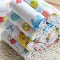30 50 De-Forest crianças toalha gaze toalha bebê toalha bebê lenço de gaze macia limpar o suor toalha