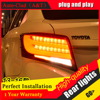 Car Styling LED Tail Lamp For Toyota Vios Tail Lights 2014 2015 For Vios Rear Light