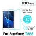 "100 unids/lote Para Samsung Galaxy Tab 7.0 ""(2016) LTE T285 T280 SM-T285 SM-T280 9 H Templado Protector de Pantalla de Cristal Película Protectora"