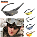 BUMLON Cycling Glasses Driving Eyewear Military Goggles Hiking Polarized Army Tactical Sunglasses with 3ls 4 / 5 Lens RL12-0005