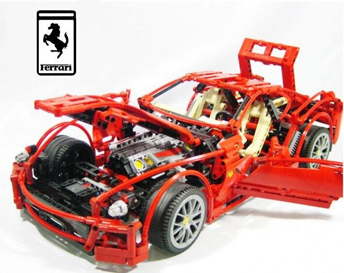 1322pcs/set 1:10 559GTB Formula Racing Car Model Building ...