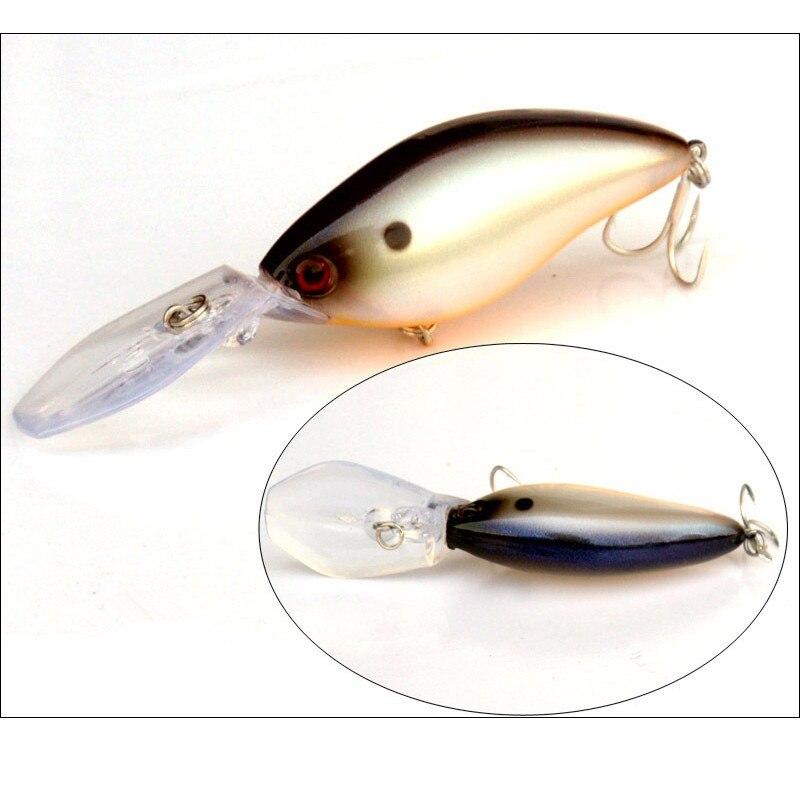 Deep Dive Crank Bait Fishing Lure 18g/11cm Long Range Casting Bait Artificial Minnow Lure