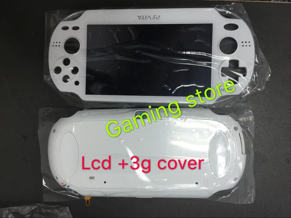 1set original new for psvita for ps vita psv 1000 game lcd screen assembly back cover