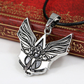 Fashion Personality Online Game Assassins Creed Necklace & Pendants Alloy Charm Necklace Chain Men's Accessories Gift