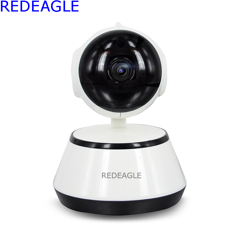 REDEAGLE 720P Wireless Pan Tilt WiFi IP Camera Security Surveillance CCTV Network IR Night Vision Wi-fi Webcam Baby Monitor howell wireless security hd 960p wifi ip camera p2p pan tilt motion detection video baby monitor 2 way audio and ir night vision