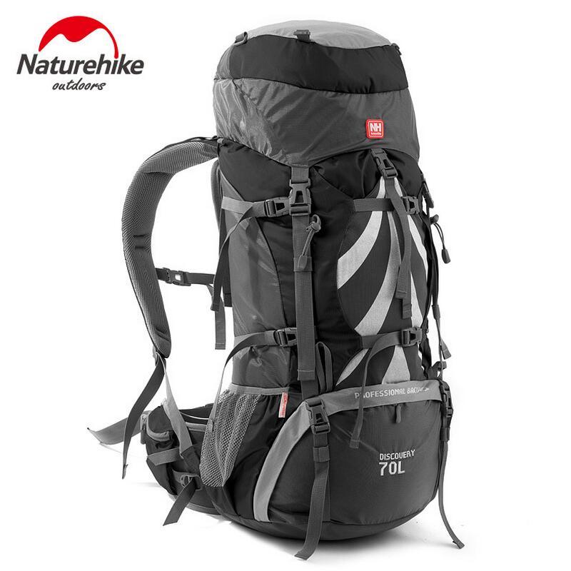 Naturehike Outdoor Backpack 70L Camping Backpacks Mountaineering Bag Men Women Sports Bag Travel Bags Waterproof Rucksack