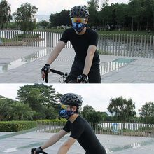 Outdoor Cycling Half Face Mask Dust Windproof Anti Pollen Allergy Activated Carbon Masks Filter Sports Riding Running JR Deals(China)