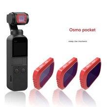 Камера фильтр объектива для камеры DJI Osmo Карманный 3-осевой ручной Камера с 4 K 60fps видео Механическая стабилизация интеллигентая(ый) съемки