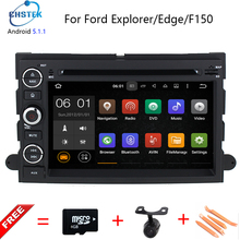 Android 5.1 1024*600 Car DVD Dla Ford F150 Mustang Expedition Explorer Fusion 2006 2007-2009 Quad Core Nawigacja GPS