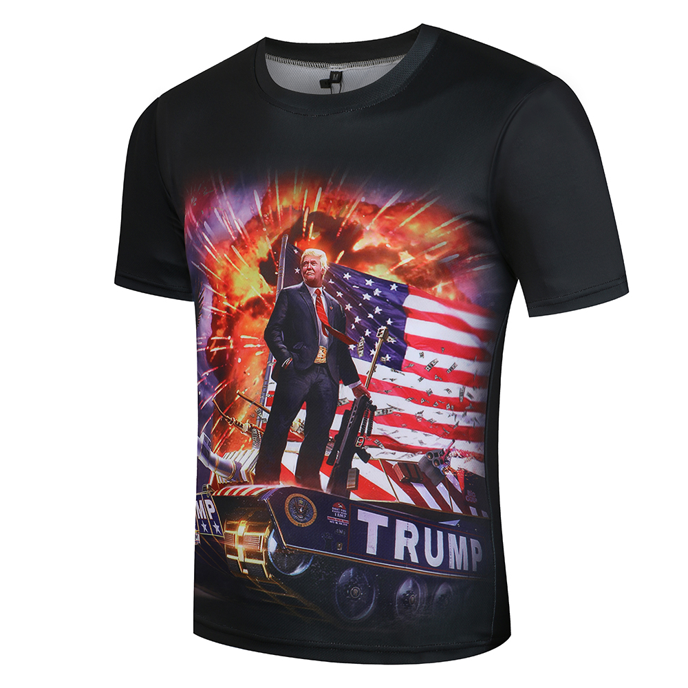 KYKU Donald Trump T Shirt Ανδρών / γυναικών - Ανδρικός ρουχισμός - Φωτογραφία 2