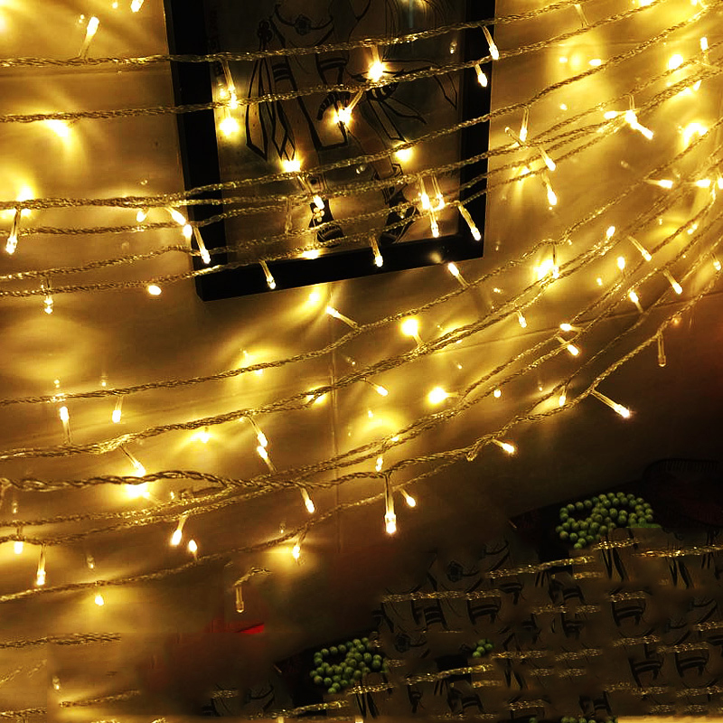 SPLEVISI High quanlity Multicolor 10M 80 Lights Holiday LED String - Illuminazione festiva