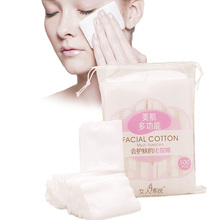 hot deal buy zd 100pcs/bag soft makeup cotton pads facial cosmetic cleansing paper make up remover wipes beauty skin care tools zy85