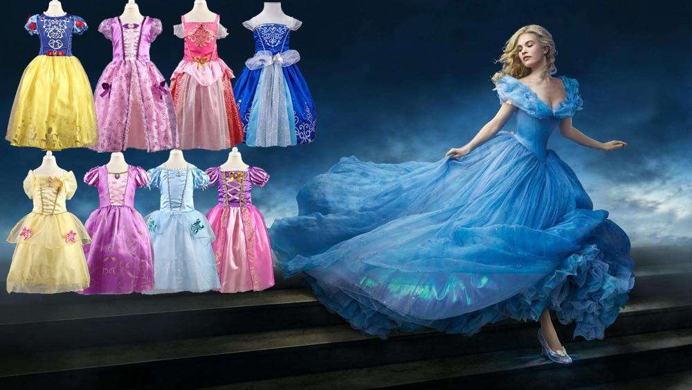 Kids Girls Sesame Street Elmo Collar Party Birthday Princess Dress Skirt O62