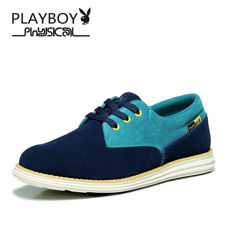 Genuíno Mocasines Playboy Sapatos Novo Casuais verde 2016 Couro marrom Artesanais Primavera Mocassim De Moda Homens Hombre Zapatos Blue Apartamentos Sapato Deep Mocassins nrarCqYw