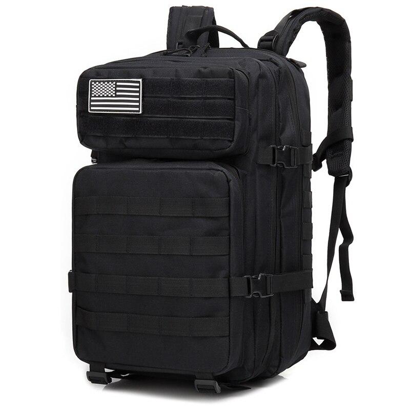 50L sacs tactiques de grande capacité en plein air chasse Camping sac à dos randonnée sacs à dos hommes armée sac à dos étanche