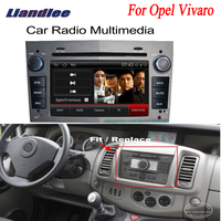 Liandlee For Opel Vivaro 2005~2010 2 din Car Android GPS Navi Navigation Radio TV CD DVD Player Audio Video Stereo OBD2