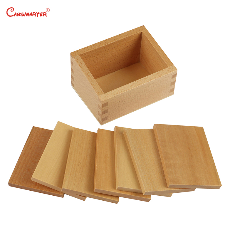 Montessori Math Toy Teaching Aids Wooden Weight Board Box Educational Brain Teaser Material Math Toys Baby Games SE023-37