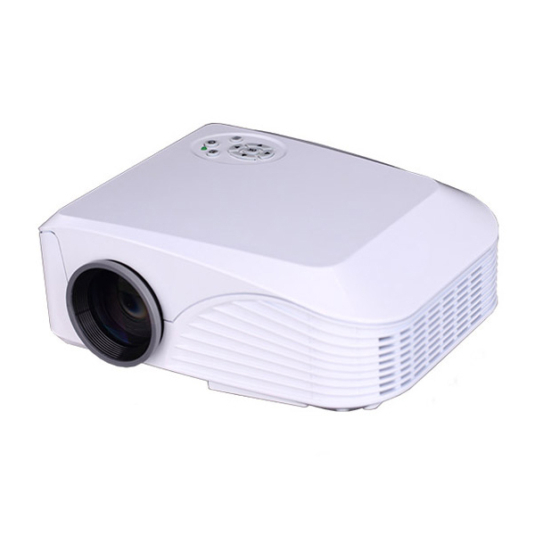 800 Lumens Home Theater Mini Portable Led Multimedia: New 2000 Lumens 800*600 Portable Mini LED Projector For