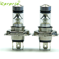 2 Pcs 100W H4 LED Bulb 20 SMD Car Fog Light 12V 24V 360 Degrees White