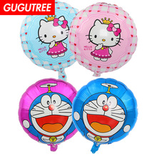 Decoration 18inch Cats Foil Balloons Wedding 10 Pieces Event Christmas Halloween Festival Birthday Party HY-167