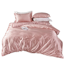 Pink Bedding set Purple Blue Green quilt duvet cover sets bed sheet sheets bed in a bag King Queen size Full twin Customize 4PCS цена