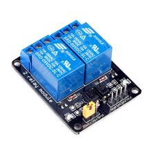 New 2 Channel Relay Module 5V Shield for Arduino ARM PIC AVR DSP Electronic Free shipping