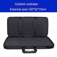 High Quality Tool Case Long Case Outdoors Luggage Special Luggage Box Plastic Toolbox Safety Box Suitcase
