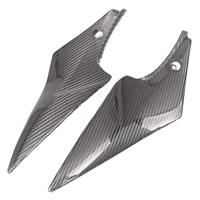 Carbon Fiber Tank Side Covers Panel Fairing for Suzuki GSXR600 GSXR750 2006 2007 K6 06 07 Motorcycle Side Lining