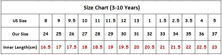 size chart 24-37