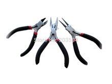 3pcs/lot jewelry pliers pinchers tongs jewelry tools multi-function metal pliers diy jewelry making tools