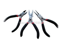 3pcs/lot jewelry pliers pinchers tongs tools multi-function metal diy making