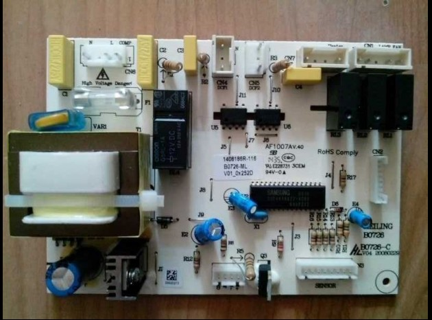 100%New/BCD-450ZE9 450ZE9H /B0726 refrigerator circuit board for Meiling холодильник galanz bcd 217t