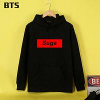 BTS Suga BangTan Boys   Hoodies   Mulheres Brand Fashion   Sweatshirt   Women tracksuit Hipster Brand Kawaii Women Hoodie   Sweatshirt