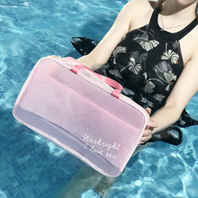 RUPUTIN Large Capacity Beach Bag Dry and Wet Separation Waterproof Bath Towel Fitness Swimming Wash Bags Cosmetic