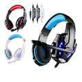KOTION CADA G9000 3.5mm Stereo Gaming Headset Auriculares Auriculares con Micrófono y Luz LED para PC Portátil Móvil Teléfonos PS4 Gamer