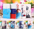 For LG L80 case, Flip PU Leather Phone Wallet case for LG L80 Dual D380 / TV D385 (5.0 inchs) phone caser bag cover + Tracking