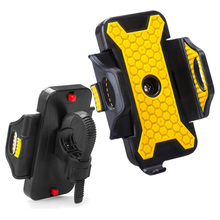 Bicycle Accessories Handlebar Clip Mount Bracket Bike Mobile Phone Holder Stand for iPhone 6s plus Samsung