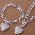 wholesale free shipping 925 silver Fashion jewelry  necklace   bracelet  WT-390
