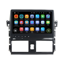 10 1 Android 5 1 GPS Navigation Car Multimedia Player For TOYOTA VIOS YARIS 2013 2015