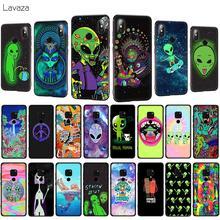 Lavaza Trippy Tie Dye Peace Alien Soft Phone Case for Huawei Mate 10 20 P10 P20 P30 Lite Pro P Smart 2019 TPU Cover