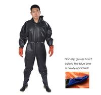 1 мм водонепроницаемый рыболовный комбинезон для мужчин дышащие болотники на груди черные штаны рыболовные cuissardes peche a la mouche