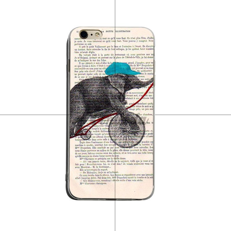Us 0 66 33 Off Yinuoda Book Newspaper Background Animal Owl Giraffe Frog Luxury Soft Phone Case For Iphone X Xs Xr Xsmax 8plus 6 6s 7 7plus In
