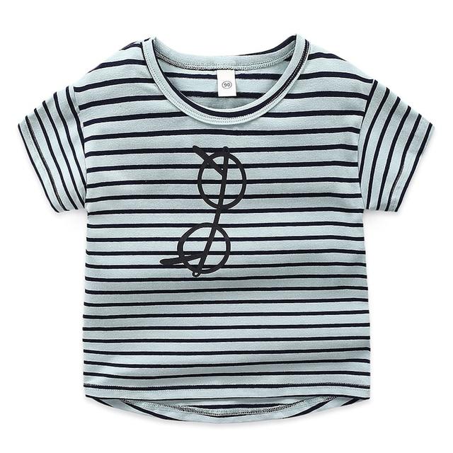 Vestiti del bambino del capretto Dei Ragazzi t-shirt a maniche corte per bambini di estate nuovi vestiti compassionevole della banda Gli Occhiali di stampa 4
