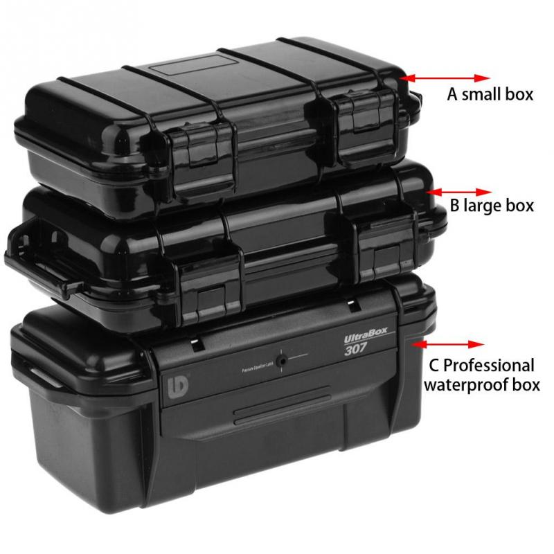 Box Gadgets Container Storage Carry-Box Outdoor-Case Airtight Phone Shockproof Survival