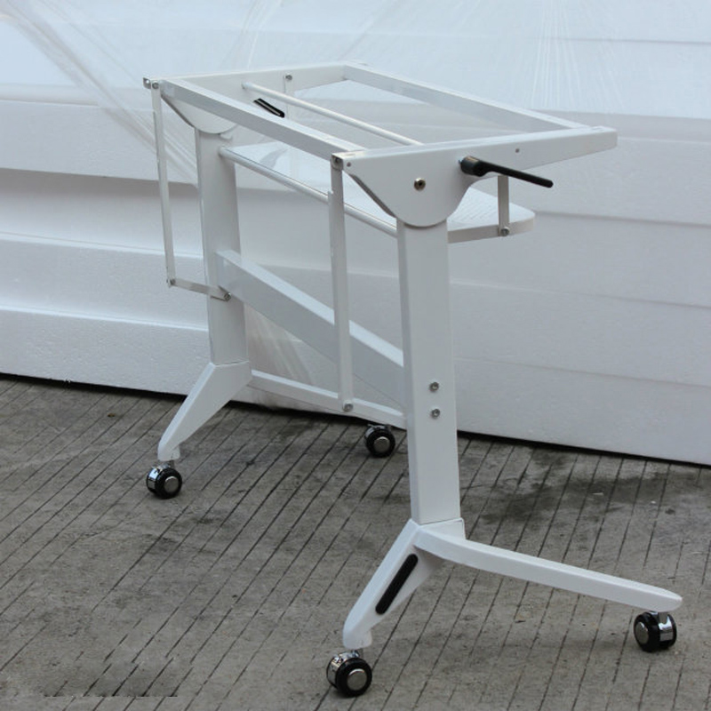 movable wooden foldable training table folding training table desk