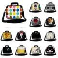 9.7 10.1 12 13 14 15.6 17 polegada de Ombro Notebook Computador mensageiro sacos de couro para samsung galaxy tab apple mac book tablet netbook PC